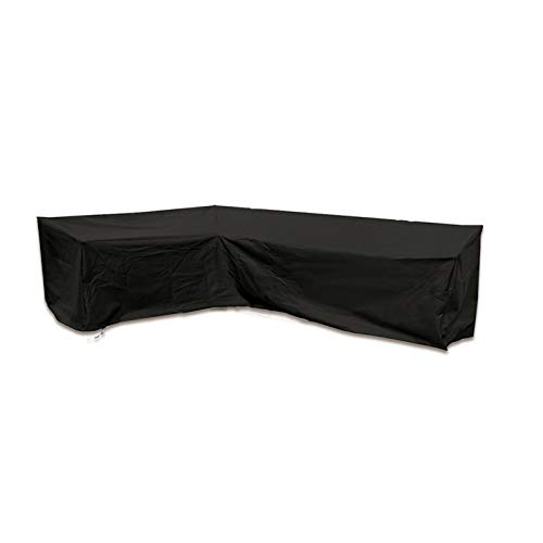 MKMKL Juego de fundas para sofá, cubierta para el polvo, para mesa y silla, 2 unidades, color negro, XL