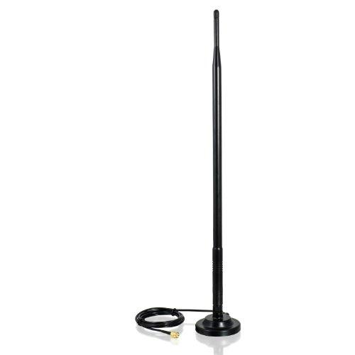 CSL - Antena de Varilla 9dBi 2,4GHz con pie - Antenas y ampl