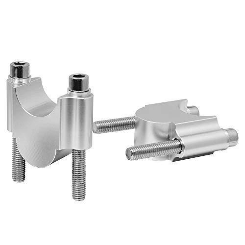 ANCLLO CNC-Lenkererhöhungs-Set, 28 mm, für Motorrad, kompatibel mit ATV, Dirt Bike, Off-Road