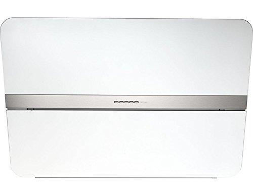 Falmec Flipper NRS 85 Edelstahl/Glas weiß Dunstabzugshaube 800 cubic_meters_per_hour
