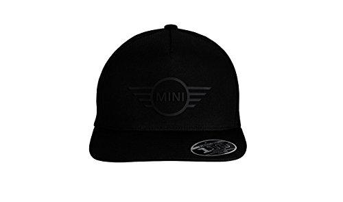 Auténtica MINI, Gorra Negra de Béisbol con Logotipo de Ala 3D, para...