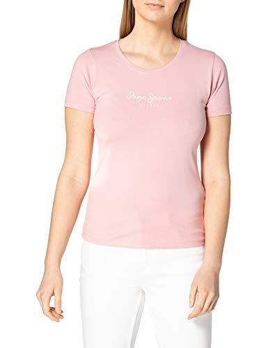 Pepe Jeans New Virginia Camiseta, Rosa (325rose), M para Mujer