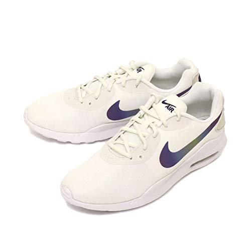 Nike Air Max Oketo - Zapatillas deportivas para mujer, Blanco (Blanco/Blanco/Negro), 39.5 EU
