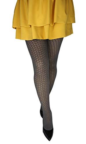 Marilyn dessin semi-transparante panty's, 120 denier