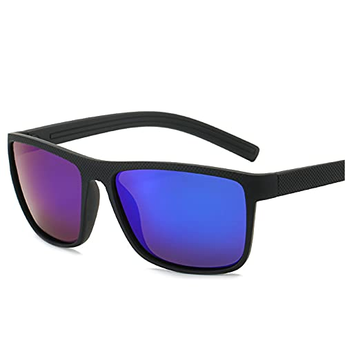 ZEMENG Gafas De Sol De Marco Completo, Gafas De Sol Polarizadas De Estilo Deportivo, Gafas De Sol Flexibles Y Cómodas para Pescar,E