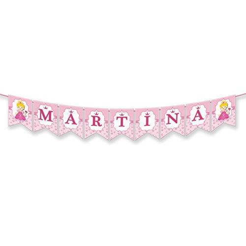 EuroFiestas Guirnalda Nombre Martina, María, Marta, Marina, Mar, Inma o Mara