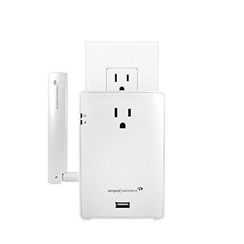 Amped Wireless High Power AC1200 Plug-In Wi-Fi Range Extender REC22PG