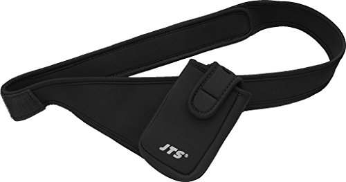 JTS BAG-BELT/S heuptas voor Tour-Guide-systeemcomponenten zwart