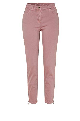 TONI Damen 7/8-Jeans »Perfect Shape« mit Langen Saumzippern 42 Mauve