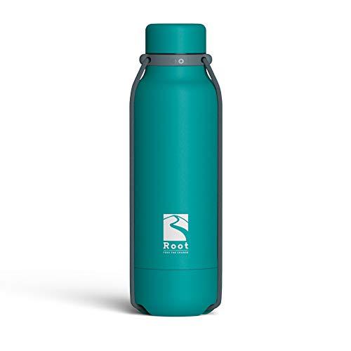 Root-FTC Botella térmica de Acero Inoxidable con Doble Pared y tapón antigoteo de 530 ml, 700 ml y 940 ml - Disponible en 10 Colores - Mantenga Las Bebidas frías/Calientes ~ 24 Horas