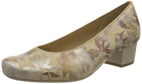 ara Brügge, Zapatos de Tacón Mujer, Beige (Lehm 11), 39 EU