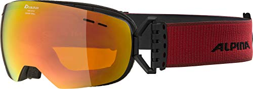 ALPINA GRANBY S Skibrille, Unisex– Erwachsene, black matt, one size