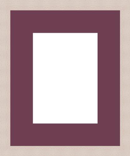 Bilderrahmen Passwort überall 1Öffnung (S) 50x 40, Bilderrahmen, gebrochenes Weiß., Holz, rubinrot, 1 - 13x18