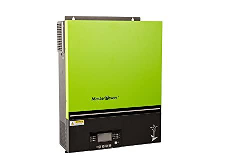 Master U-Power Inversor Cargador Hibrido Pro 3600W 24V MPPT 80Ah Bluetooh 4000w en Paneles