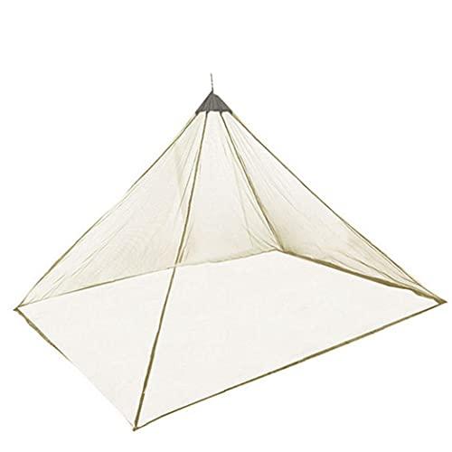 Liadance Tenda Zanzariera Portatile Leggero Viaggi Zanzariera per Mountain Camping Viaggio Verde