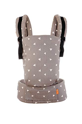 Tula Free-to-Grow TBCA7G79 Sleepy Dust - Portabebè configurabile in larghezza e altezza per bambini da 3,2 a 20,4 kg senza bisogno di un cuscino