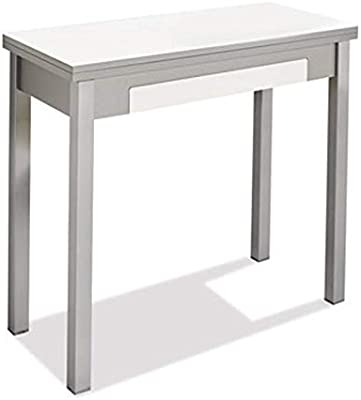 fanmuebles - Mesa de Cocina Libro Marta con cajón - 90 x 45 cm ...