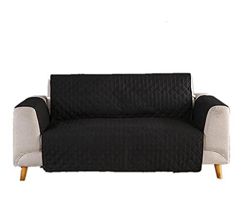 KJLYU wasserdichte Couch Abdeckung, Gesteppte Sofa Protector Couch deckt Sofa Abdeckung für Hunde möbel deckt Nicht rutschfest für Haustiere (Color : Color 6, Specification : 2-Seater 130-195cm)