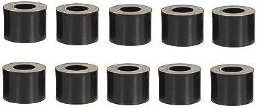 20 Stk Distanzhülsen für M6 und M8 Schrauben versch Längen Kunststoff schwarz