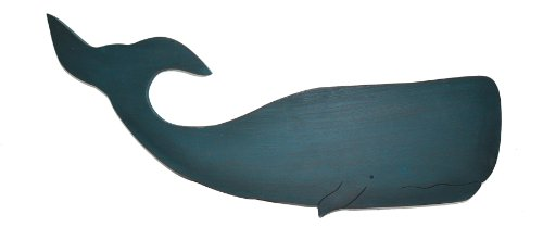 Sixtrees Whale Wall Cutout Sign
