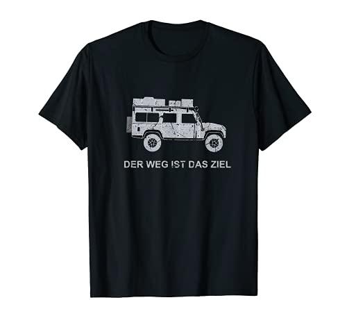 Defender 110 Dachzelt Offroad 4x4 Reisefahrzeug Autodachzelt T-Shirt