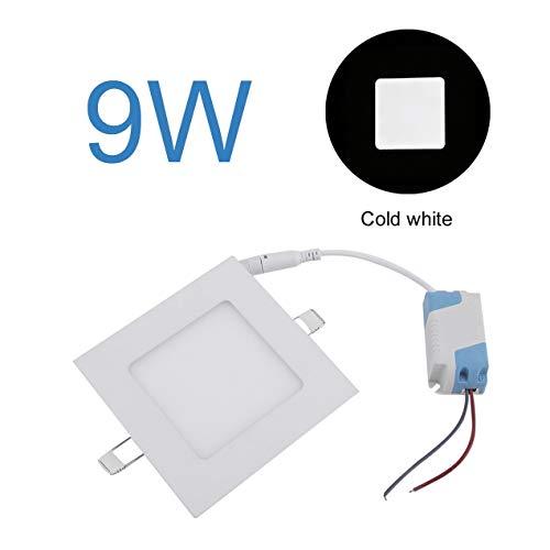 LED Panel Licht Downlight Deckenleuchte Quadrat Kneten Brett Lampe Deckenmontierte Daunenlampe Für Schlafzimmer Wohnzimmer - Kaltweiß