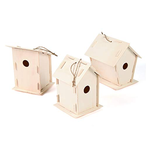 Top unfinished bird houses for 2020