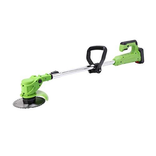 GLYHVXZ Cortacésped eléctrico inalámbrico de Mano, portátil, Ligero, cortadora de césped, cortadora...