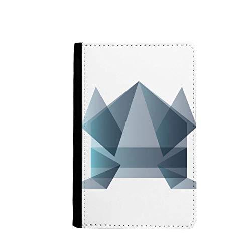 beatChong Origami Rana Abstracto Geométrico Pasaporte Forma El Bolso De Viaje Portatarjetas De La Caja Cubierta De La Carpeta