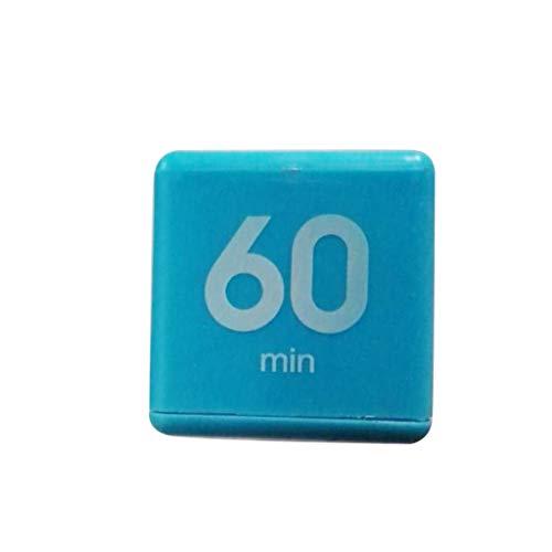 BIlinli Candy Color Yoga Workout Timer Cube Niños Máquina de gestión del Tiempo Kitchen Timer Combo