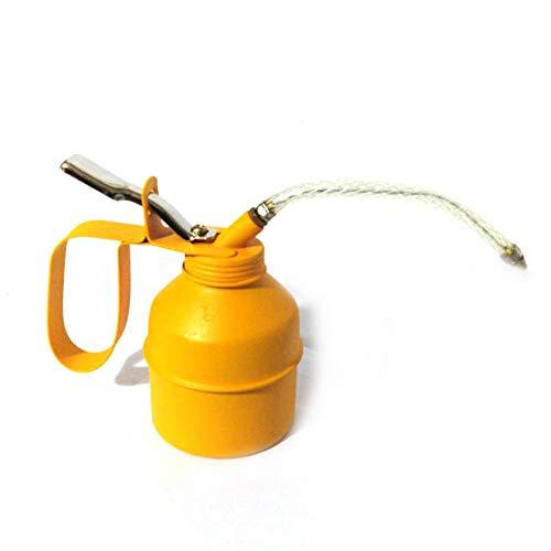 Aceitera de 500 cc, bomba de aceite manual de aceite y aceite, recipiente con tubo flexible, lubricante dosificador