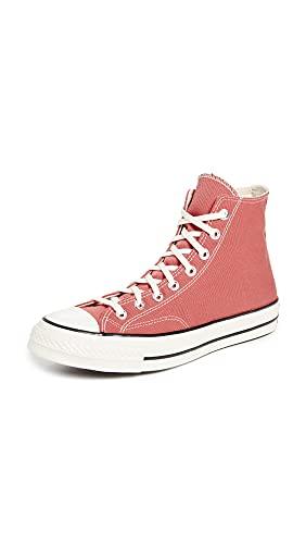 Converse Men's Chuck 70 Vintage Canvas Sneakers, Terracotta Pink/Egret/Egret, 9.5 Medium US
