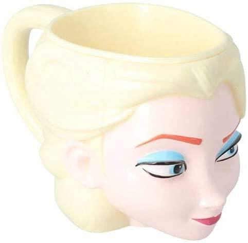 Tazza in plastica per Bambini in confezione regalo 3D a forma di Elsa di Frozen (Frozen 3D Elsa)