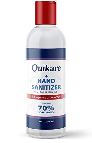 Quikare Hand Sanitizer, 4 Fl Oz