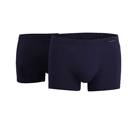 BUGATTI Herren Pants, Unterhose - Baumwolle, Single Jersey, blau, uni, 2er Pack 5