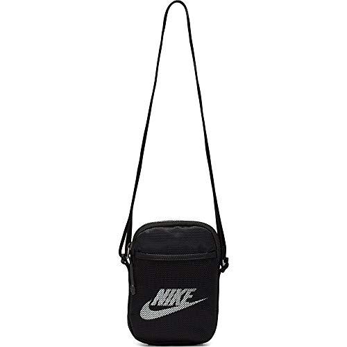 Nike Umhängetaschen-Ba5871 Unisex Umhängetaschen, Black/White, One Size