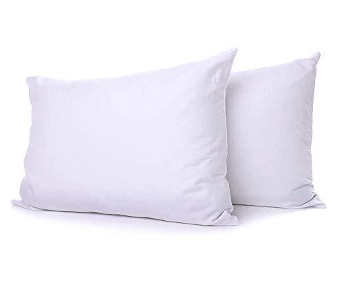 E4Emporium Polycotton Hollowfibre Non-Allergenic Pillows