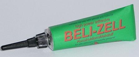 Beli-Zell 10min Tropfzeit - weisser aufschäumender Schaumstoffkleber für breites Einsatzspektrum