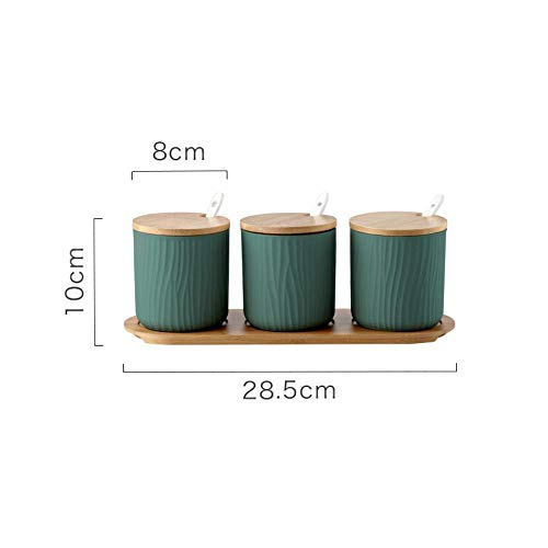 Nordic keramische fles vaas Thuis Box kruid kruiden specerij creatieve glas, keuken accessoires spice shaker Casket,B