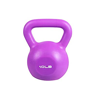 Kettlebells Weight Sets, 5/10/15/20lbs - Fitness Kettlebell Training Arm Lifting, Core, Leg |Kettle Dumbbell Comfortable Grip Wide Handle & Rubber Bottom from Valenfit