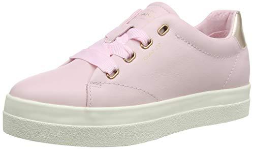 GANT Footwear Damen AVONA Sneaker, Pink (Pink G580), 39 EU
