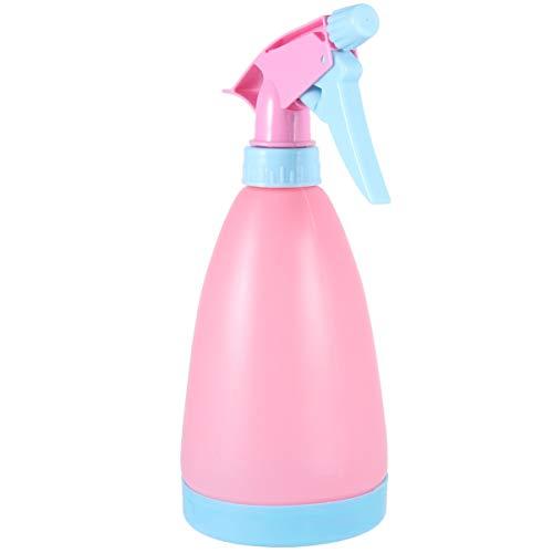 PRETYZOOM Sprühflasche Kunststoff Sprüher Leere Wassersprüher nachfüllbare Sprayers Hygiene Reinigung Flüssigkeit für Blumen Zimmerpflanzen Bewässerung Rosa