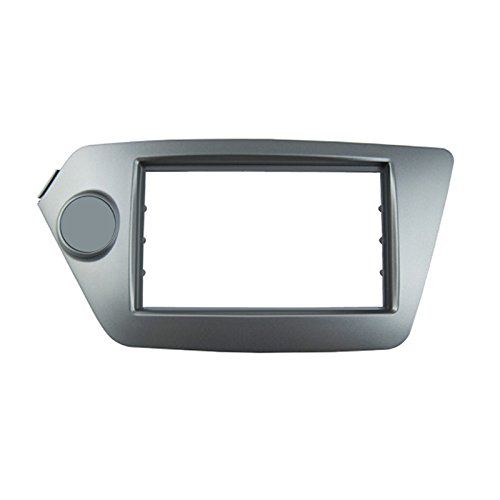 Feeldo Car CD/DVD radio Fascia plate Panel Cadre 2DIN Panneau Tableau de bord Garniture kit d'installation de projecteurs