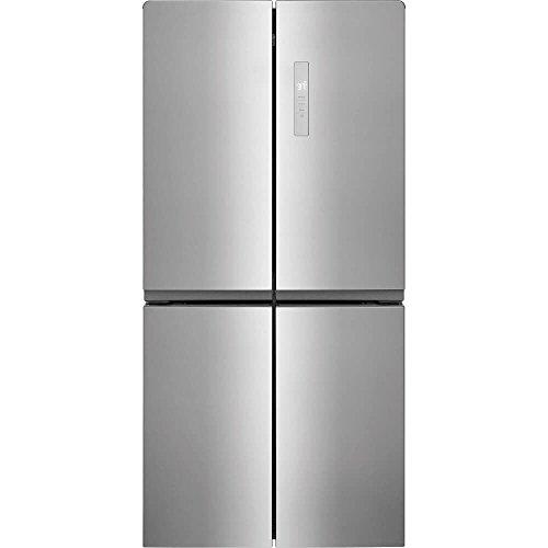 Frigidaire FFBN1721TV Refrigerator, Brushed Steel