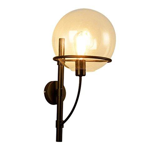 DSJ antieke loft wandlamp slaapkamer bedlampje woonkamer retro ijzer glazen wand hanglampen