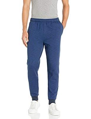 Amazon Essentials Men's Fleece Jogger Pant, Navy Space-Dye, Medium
