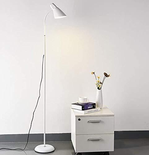 Stehlampe moderne minimalistische Sofa im Wohnzimmer Lampe Schlafzimmer der Stehlampe kreative Arbeit Vertikal,White-Matte StyleA