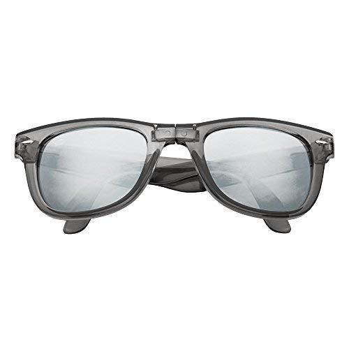 LAGO TERRA - Occhiali da sole - Uomo nero Grey