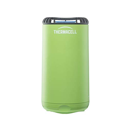 Thermacell Patio Shield Mosquito Repeller, Green; Highly Effective Mosquito Repellent for Patio; No Candles or Flames, DEET-Free, Scent-Free, Bug Spray Alternative; Includes 12-Hour Refill