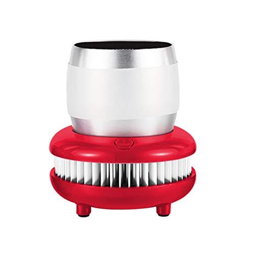 Getränkekühler Sektkühler Weinkühler Champagnerkühler Kühlbox Kühlung Drinks Beverage Cooler USB Kühlschrank 12V Elektrische Cup Cooler - Extrem Schnelle Abkühlung VNEIRW (Rot)